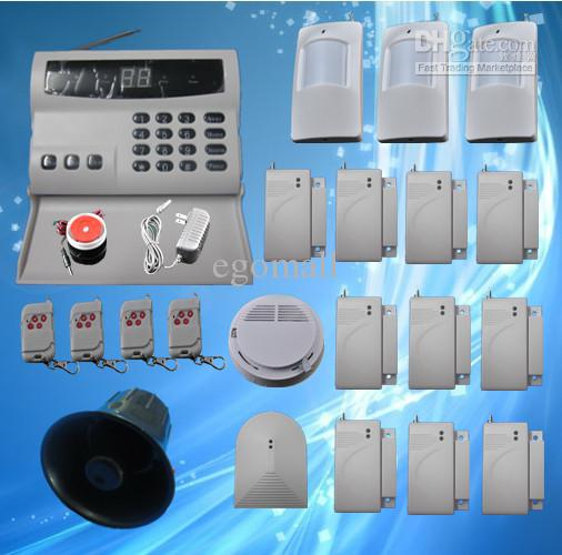 wireless home security alarm systems kit auto dial burglar diy home alarm system s224 alarm systems security alarms from egomall 13458 dhgatecom - Diy Home Alarm Systems