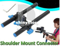 Wholesale Camera Shoulder Rig Focus - NEW! Shoulder Mount Connector +Hex Wrench For Shoulder Mount Rig Connects Follow Focus pk008