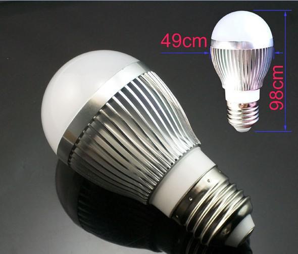 E27 3X3 W 9 W Küre Lamba Led Işık Kabarcık Topu Ampul 85 V-265 V Spot Downlight ile iyi kalite