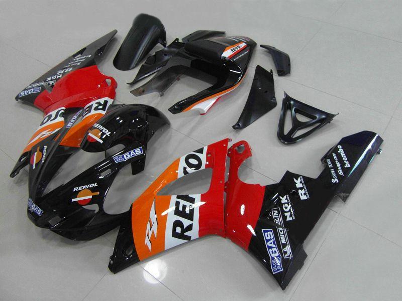 street bike bodywork for YAMAHA 2000 2001 YZF-R1 fairings kit YZFR1 YZF R1 YZF1000 00 01 Y1021