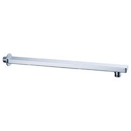 Wholesale Shower Arm Wall - Free Shipping - 40 cm Length Wall Mounted Solid Brass Chrome Shower Arm 020