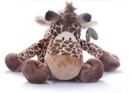 Wholesale Stuffed Giraffe Plush Toy - NICI Wild Friends cute giraffe plush doll stuffed animals toys 25CM Free shipping