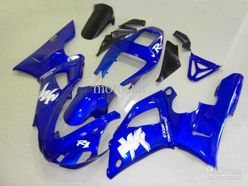 R1984 Blue brand new fairing kit for YAMAHA 1998 1999 YZF-R1 YZFR1 98 99 YZF R1 YZF1000 bodywork