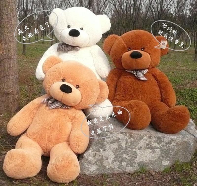 63 Giant Huge Milky Plush Teddy Bears Holiday Gifts