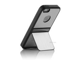 Wholesale Metal Brushed Chrome Case - Luxury Brushed Metal Aluminum Chrome Hard Case For iPhone 5 5G 10Pcs Lot