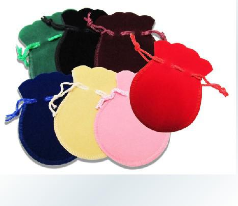 100pcs Velvet Jewelry pouches ring earrings pendant charm packing