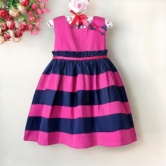 Hot pink baby dress