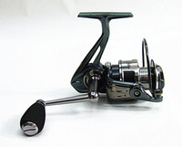 ingrosso 11 1 bobina-1000,2000,3000,4000 Mulinelli da pesca Spinning Reel Bait Casting Reel Fishing Tackle 9 + 1BB Rapporto di marcia 5.2: 1 grigio specchio