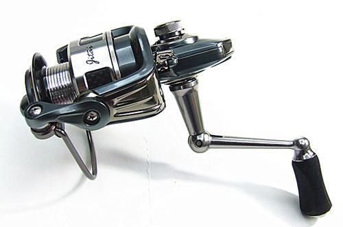 1000.2000.3000,4000 Fiskehjul Spinning Reel Bait Casting Reel Fiske Tackle 9 + 1BB Växellåda 5.2: 1 Spegelgrå