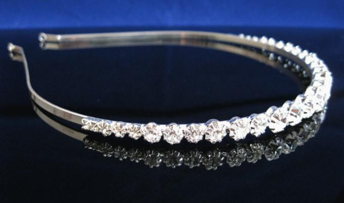 luxury crystal rhinestone headband hair comb diamond hairpins jewelry wedding accessories from jessie06 dhgatecom