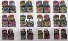 Wholesale Mini Toy Top - 12 styles Rapidity Super Top Clash Metal Beyblade Without Launcher , Spinning Tops Toys