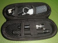 Wholesale Ecigarette Sets - ce4 electronic cigarette with e cigarettes case, ego-t ecigarette free shipping via DHL