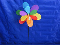 Wholesale Parachute Balls - Mix Windmill double six-color large windmills wholesale Hot couple outdoor toys for children Sports Toys Sports & Outdoor Play Gifts