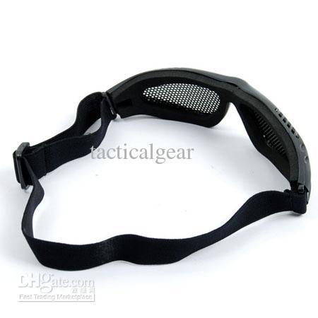 TMC Wire Wire Goggle Black (G30-BK)