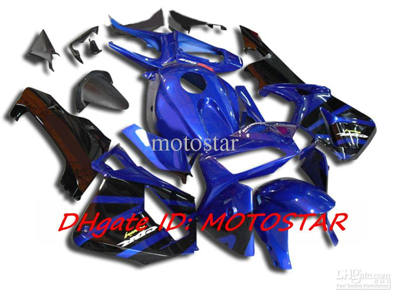 H655 blue black Injection OEM fairing kit for Honda 2005 2006 CBR600RR F5 CBR 600RR 05 06 CBR600