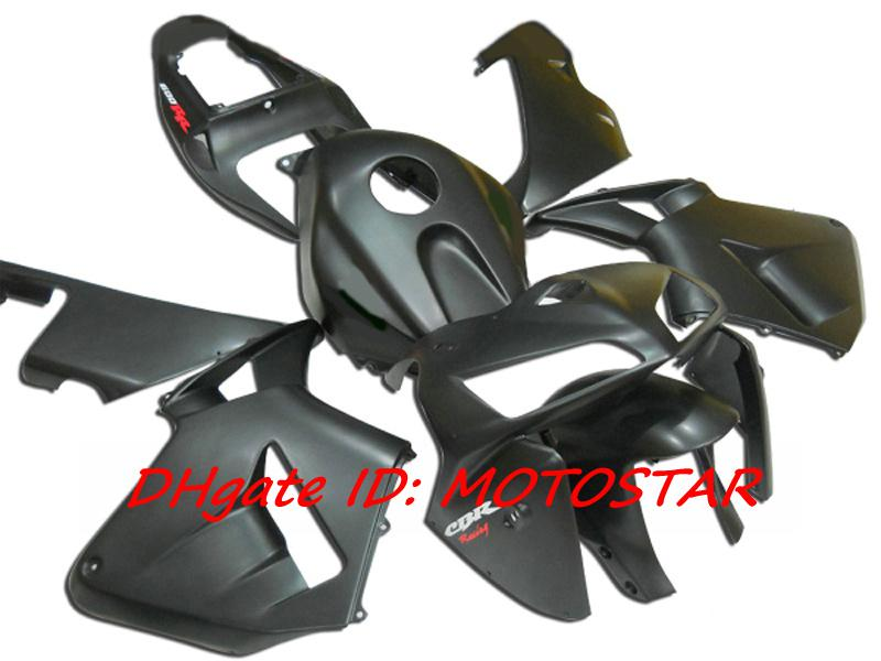H65B düz mat siyah Honda 2005 2006 CBR600RR F5 CBR 600RR 05 06 için kaporta kiti