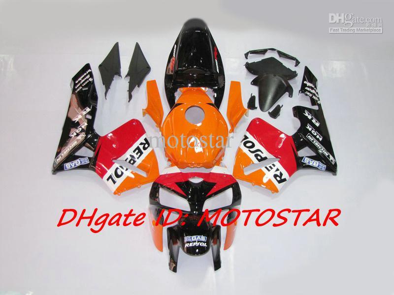 H65G OEM REPSOL Einspritzverkleidungen für Honda 2005 2006 CBR600RR F5 CBR 600RR 05 06 CBR600 Karosserie