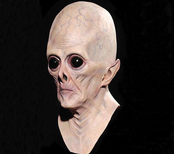 halloween latex masks aliens eye mask halloween masquerade masks - Alien Halloween Masks