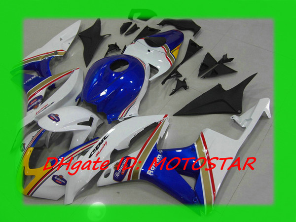 H67F Rothmans Injection mold fairing kit for 2007 2008 CBR600RR CBR 600RR F5 07 08 CBR600 bodywork