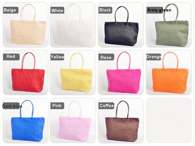 Women's Straw Bags Woven Bags Summer Holiday Beach Bags Travel ...