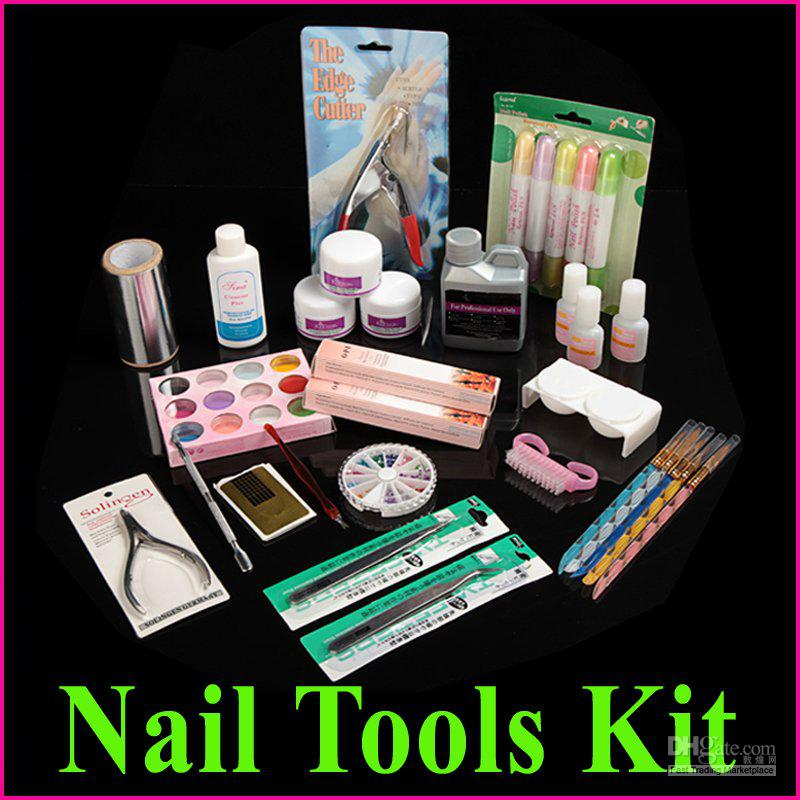 Professional Manicure Pedicure Nail Art Salon Tool Full Acrylic ...