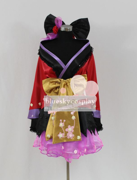 Vocaloid Miku Megurine Luka Kimono Cosplay Costume New Anime custom any size Halloween Fancy Dress Outfits