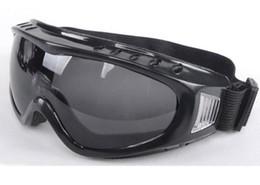 Wholesale Windproof Safety Glasses - Safety Goggles Windproof Dustproof Safety Eyeglasses Protective Goggles glasses 10pcs Lot Free Ship Adjust Bandage 3 Colors