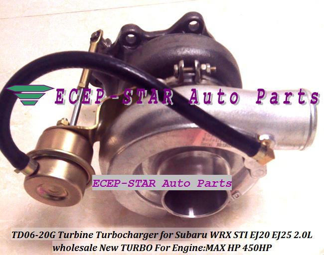 BEST Turbo Turbocharger TD06-20G TD06 20G TD0620G Turbine For SUBARU Impreza WRX STI Engine EJ20 EJ25 2.0L MAX POWER 450HP