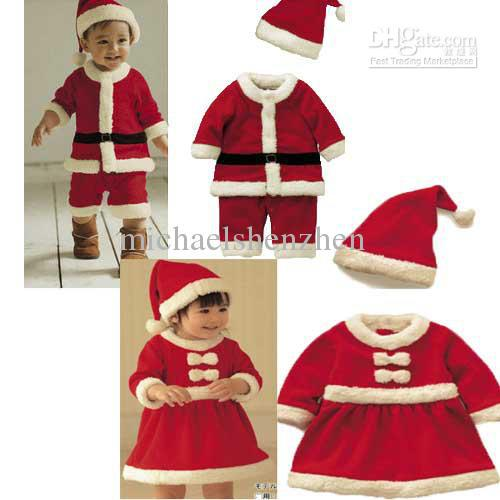 Best Baby Christmas Suits,Christmas Costume, Santa Baby Dress ...