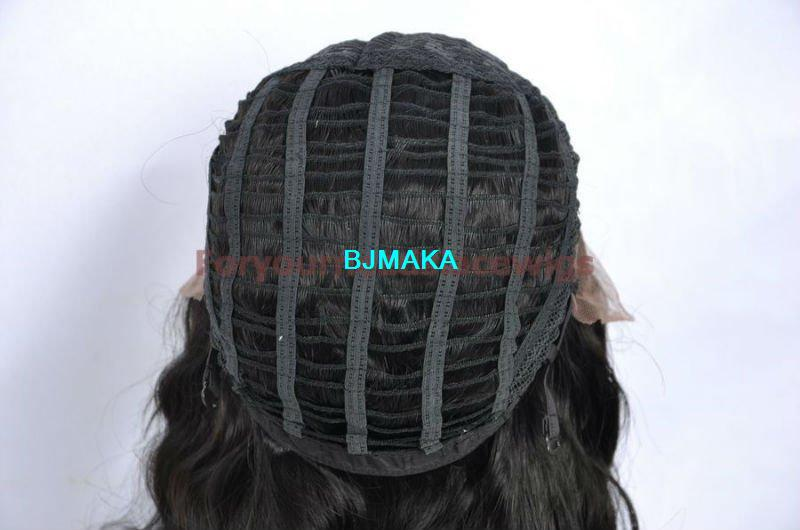 front lace wigs weft back```