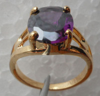 Wholesale Gemstone Ring Tanzanite - Wholesale - - Fashion Jewelry womens ring 4.2ct Tanzanite gemstone ring diopside rings solid 14k yellow gold