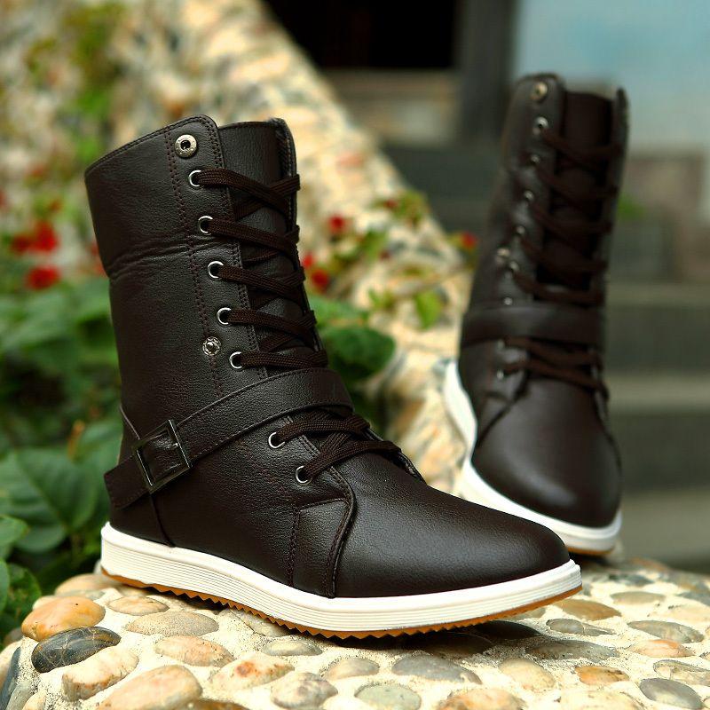 Martin Boots / Boots / M Boots / Men High-top Boots / Korean ...