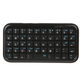 Wholesale Slim Mini Wireless Bluetooth Keyboard - christmas Mini Keyboard Wireless Bluetooth 3.0 keyboard C871B For PS3 tablet cell phone slim design