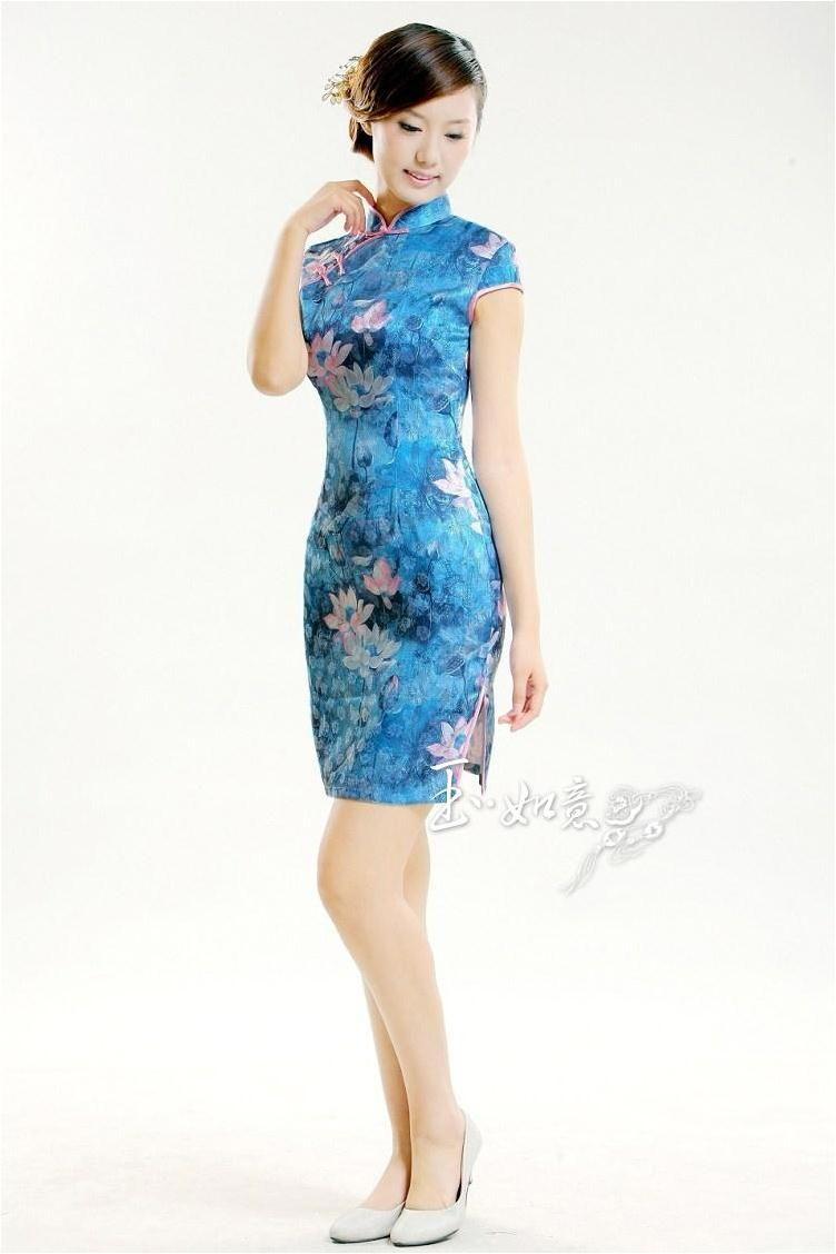 Traditional chinese dress cheongsam sexy cheongsam sexy Chinese dress evening dress cheongsam dress
