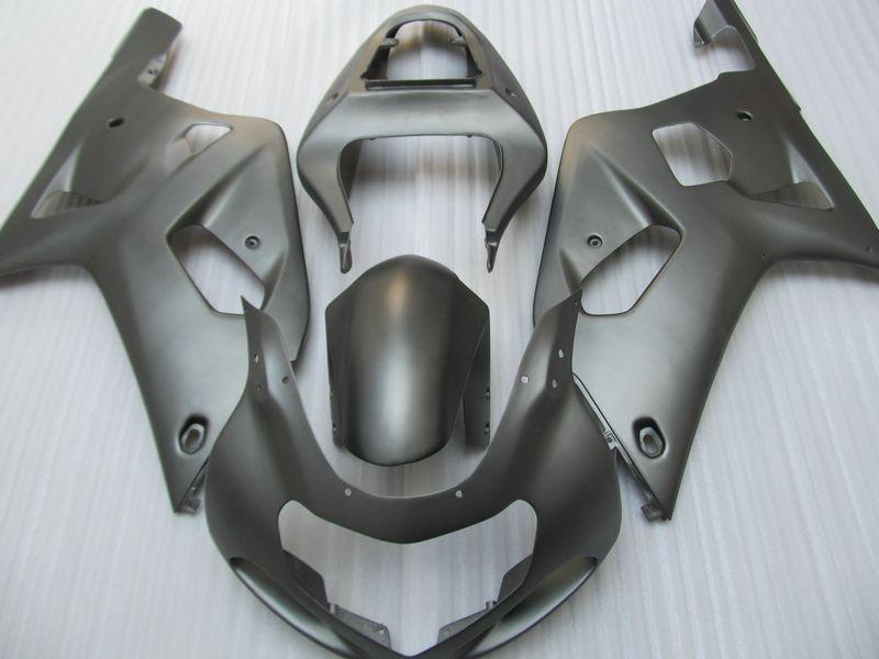 Matt flach schwarz ABS Verkleidungskit für SUZUKI GSXR 600 750 K1 2001 2002 2003 GSXR600 GSXR750 01 02 03