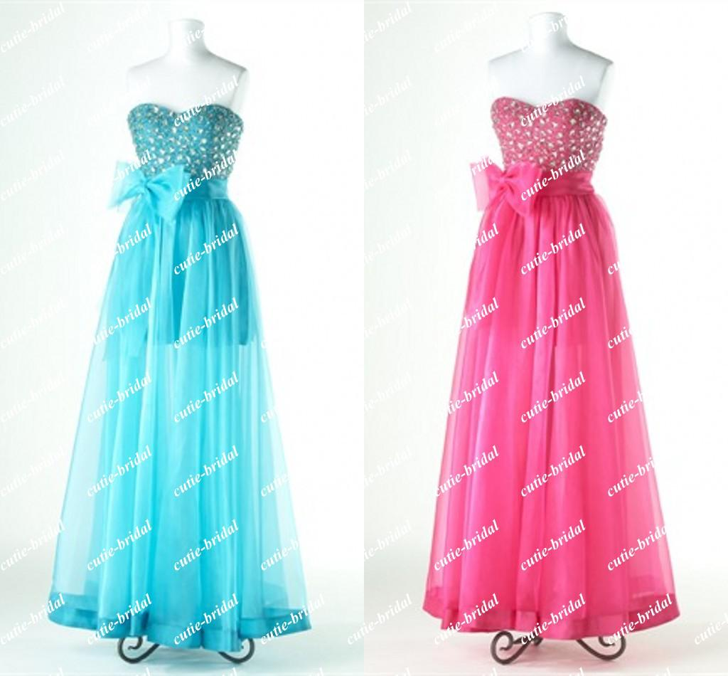 Rhinestone Bodice Lace Up Evening Dress Long Dresses Patterns ...