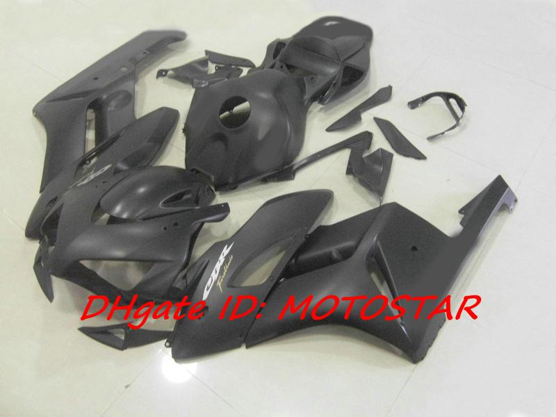Carenagens pretas matte do molde da injeção de H14A para Honda CBR1000RR 2004 Carcaças pretas do molde da substituição de Honda CBR 1000RR CBR1000 04 05