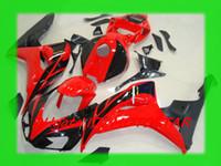 Wholesale Oem Fairings - H164 OEM red Injection body for HONDA 2006 2007 CBR1000RR CBR 1000RR CBR1000 06 07 bodywork fairings