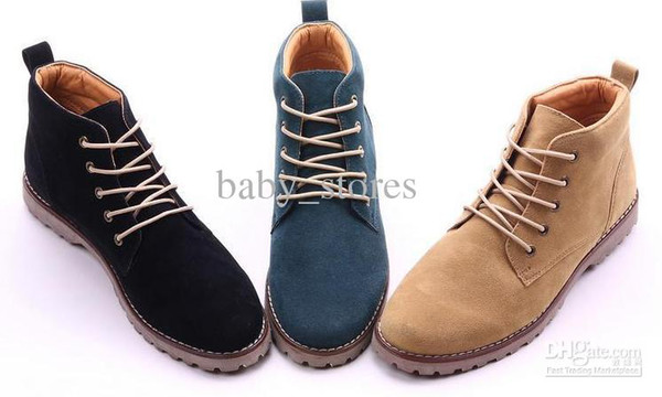 67a73865cf8d7 New men tide short boots Martin boots man British fashion boot high help  shoes boots 4