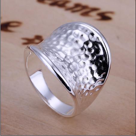 Precio de fábrica de alta calidad 925 plata pulgar el pequeño anillo de joyería de moda envío gratis 10 unids / lote