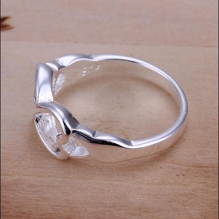 Precio bajo y alta calidad 925 palabra plata anillos 6-9 # joyería de moda envío gratis 10 unids / lote