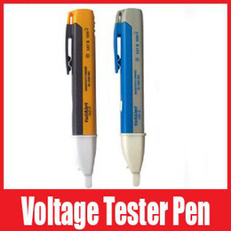 Wholesale Ac Design - Non-contact AC Electric Voltage Detector Sensor Tester Pen 90~1000V tester pen designed for electric