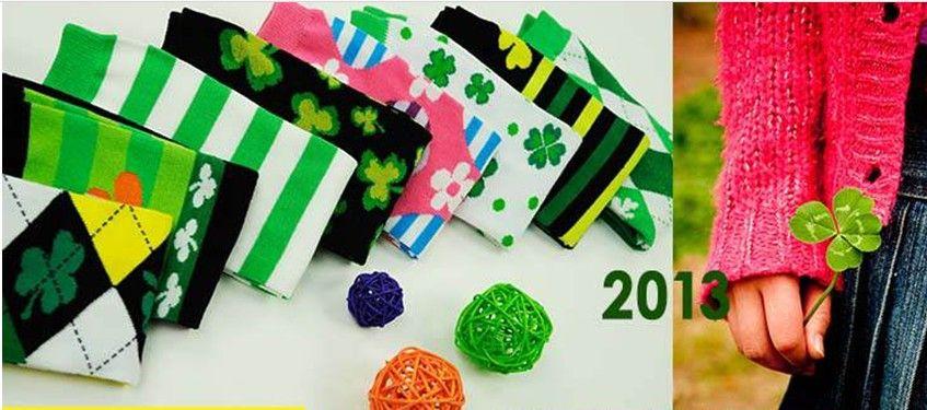 Großhandel ST Patricks Day Beinlinge Argyle Clover Beinwärmer Grün Weiß Gestreift Von QueenBaby Von Queenbabystore, $80.88 Auf De.Dhgate.Com |