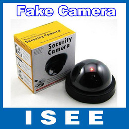 Wholesale Decoy Security Cameras - Emulational Fake Decoy Dummy Security CCTV DVR for Home Camera with Red Blinking LED