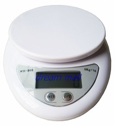 Wholesale 5kg Digital Scale - 5kg 1g 5kgx1g 5kg-1g 5000g 1g WH-B05 Kitchen Scale Electronic Portable Weight Digital Scale With LCD