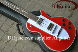 Chinese  Deluxe Custom Shop guitar 1960 Corvette guitar red color music electric guitar factory outlet manufacturers