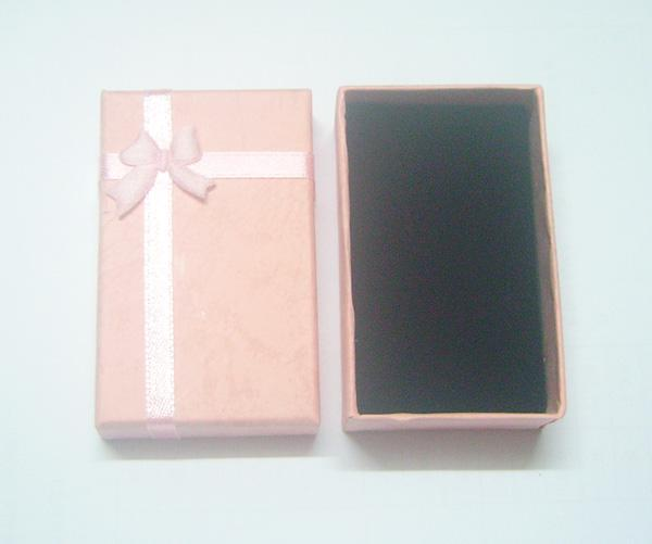 / mezcle colores anillo anillo collar conjunto caja de joyería para la pantalla de embalaje de regalo 5x8x2.5cm bx16