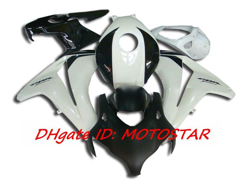 H188 white black fairing kit for 2008 2009 2010 2011 Honda CBR1000RR CBR 1000RR CBR1000 08 09 10 11