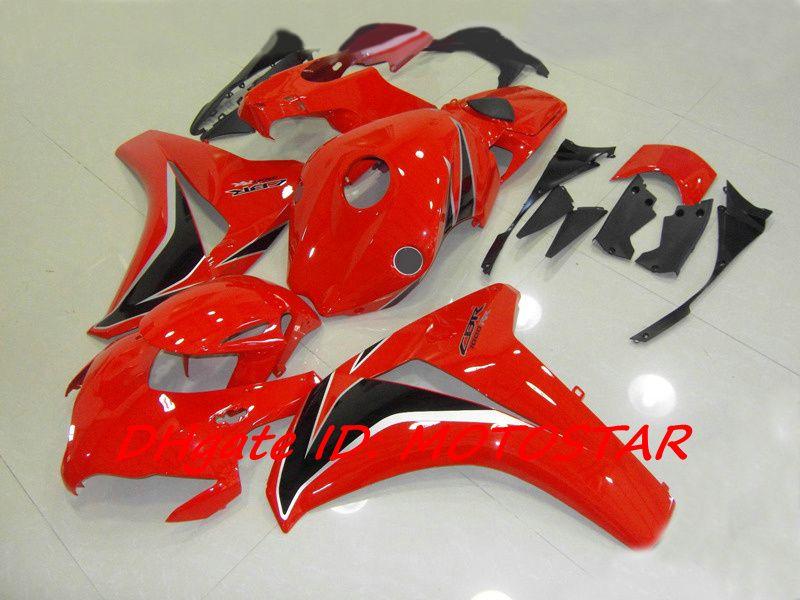 H18A Red body kit for 2008 2009 2010 2011 Honda CBR1000RR CBR 1000RR fairings CBR1000 08 09 10 11
