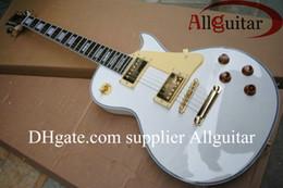 Discount guitar factory china - Custom Shop guitar 1958 Alpine white mahogany electric guitar China Guitar factory outlet